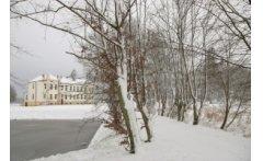 Zima w gminie Brusy